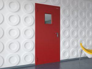 противопожарные двери одностворчатые