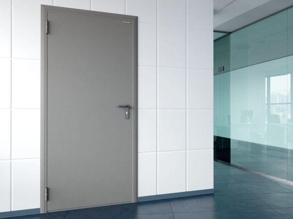 одностворчатые технические двери