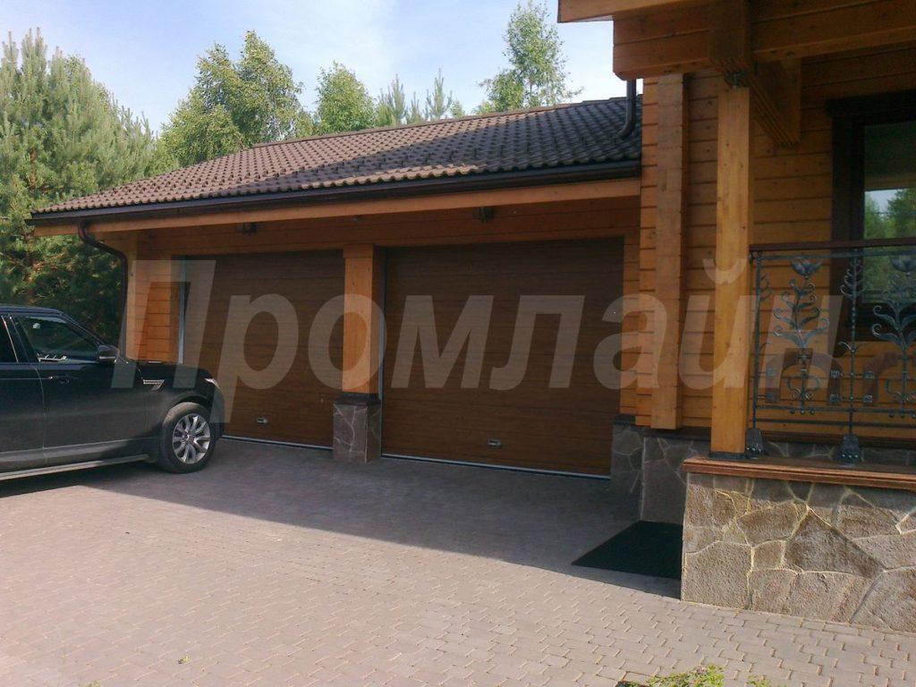Секционные подъемные ворота Doorhan для гаража