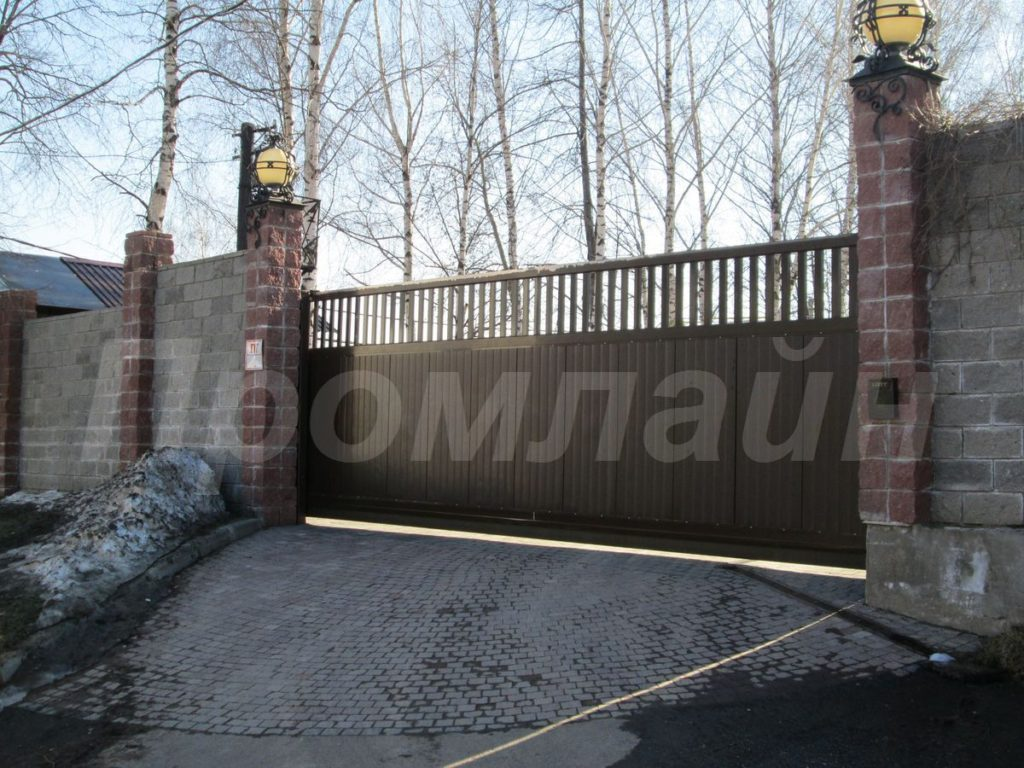 Автоматические откатные ворота Doorhan