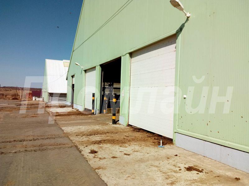 подъемные ворота на склад