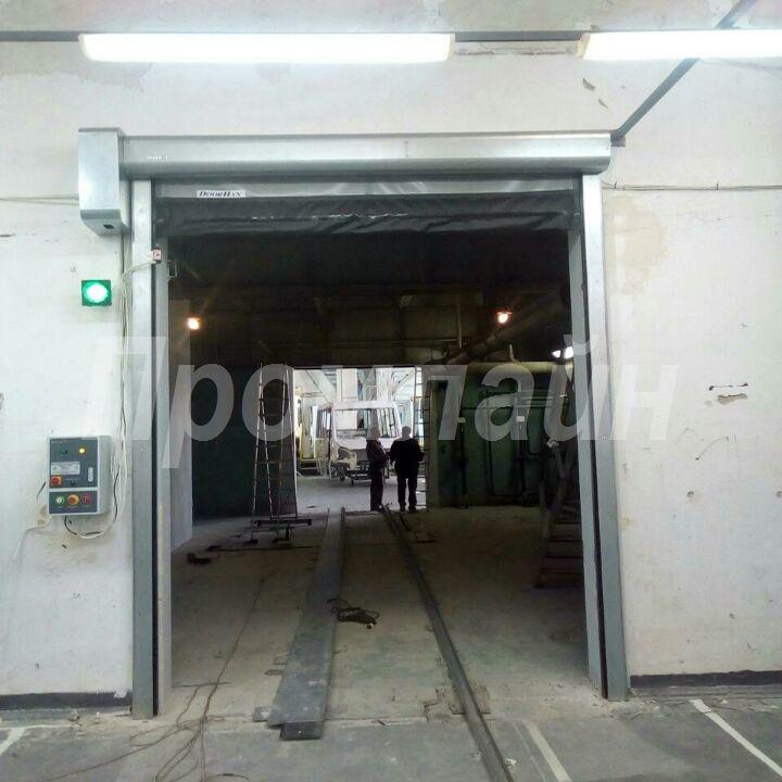 скоростные ворота doorhan