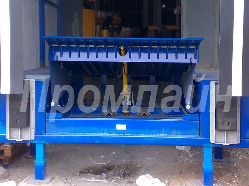 Доклевеллер уравнительная платформа Doorhan c поворотной аппарелью