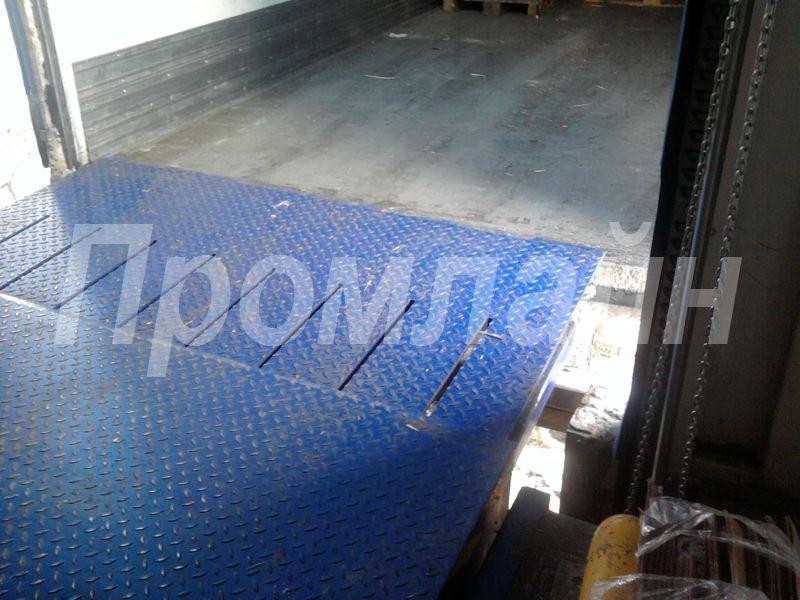 Доклевеллер уравнительная платформа Doorhan c выдвижной аппарелью