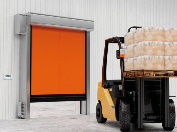 скоростные ворота doorhan для морозильных камер